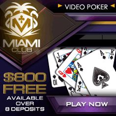 Miami Club VideoPoker 125x125