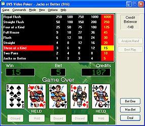 BVS Video Poker Software