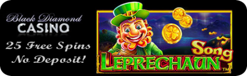 Leprechaun Song - New game live at Black Diamond Casino - Free Spins!