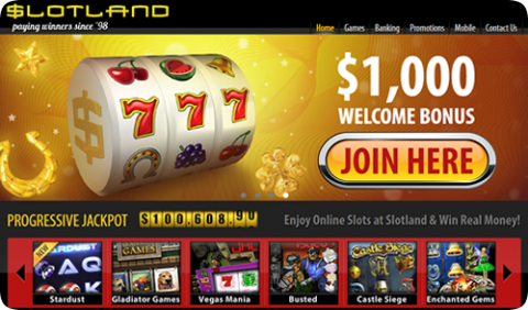 Slotland Casino has some of the most unique casino games ever. They have a long history of being one of the best online casinos too!