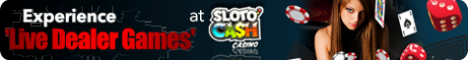 Win at Baccarat with Sloto'Cash Casino