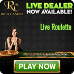 Rich Casino has a choice of online roulette games