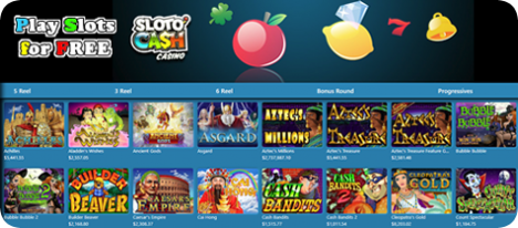 Play Free Slots and win at slots with Sloto'Cash Casino