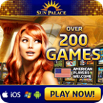 Play online blackjack for free at Sun Palace Casino