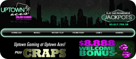 Try your craps strategy at Uptows Aces Casino