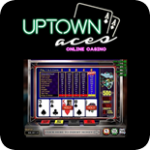 Uptown Aces features up to 100 hand video poker games