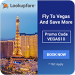 Lookup Las Vegas for the cheapest flights and more!