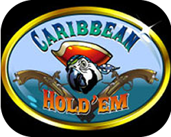 Huge Jackpot Winner playing Caribbean Hold'em